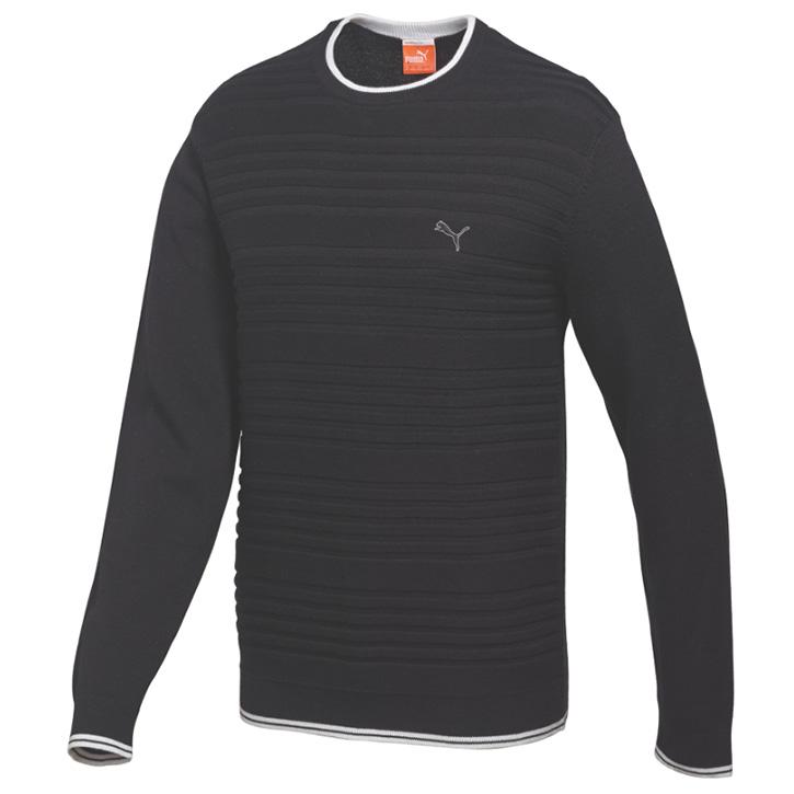Puma Crew Sweater - Mens Black