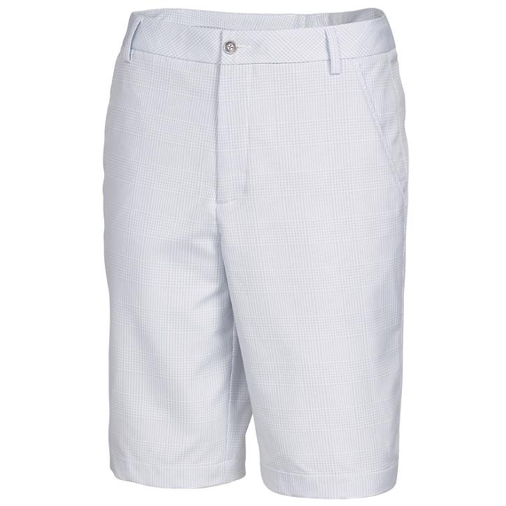 Puma Lux Novelty Short - Mens White/Gray