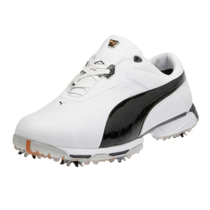 Puma Zero Limits Golf Shoes - Mens White/Black/Silver
