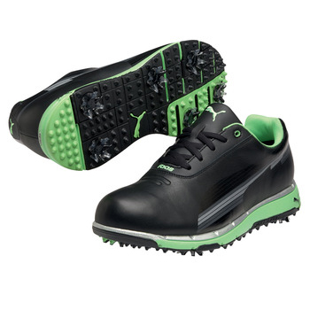 black puma golf shoes