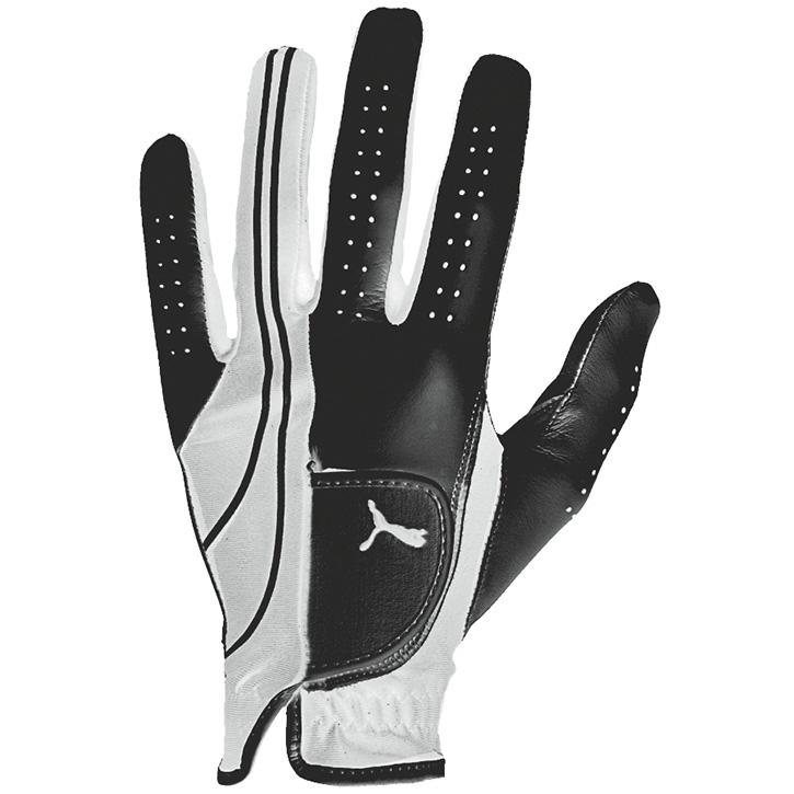 Puma Form Stripe Performance Golf Glove - Black