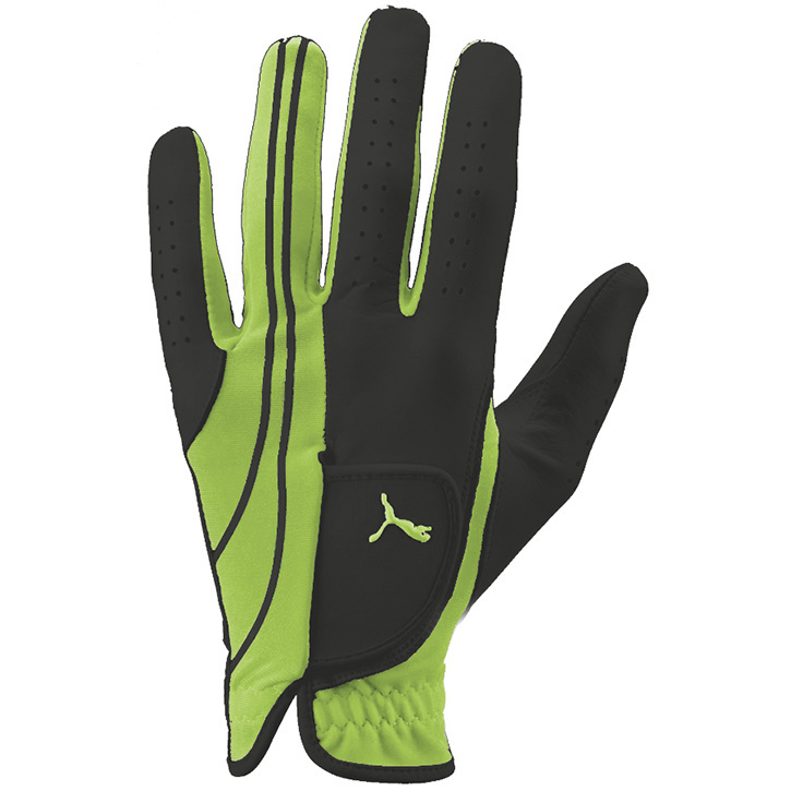 Puma Form Stripe Performance Golf Glove - Green