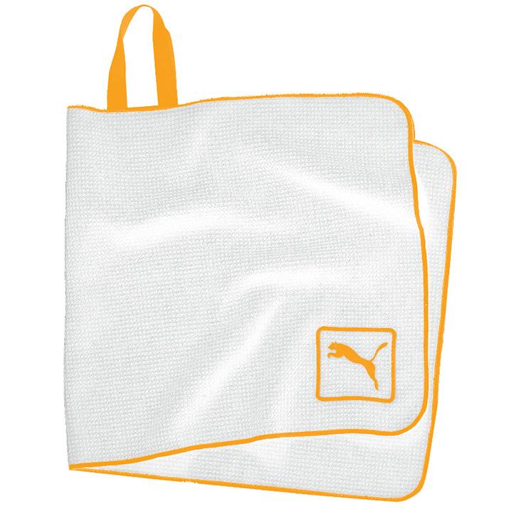 Puma Microfiber Players Towel - White