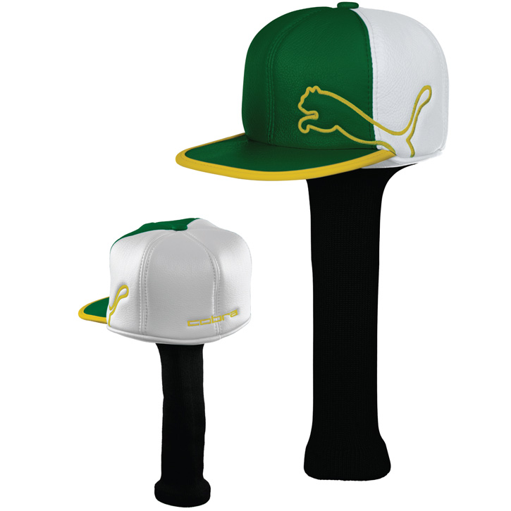 Puma Monoline Cap Headcover - Limited Edition Masters - Green/White/Yellow