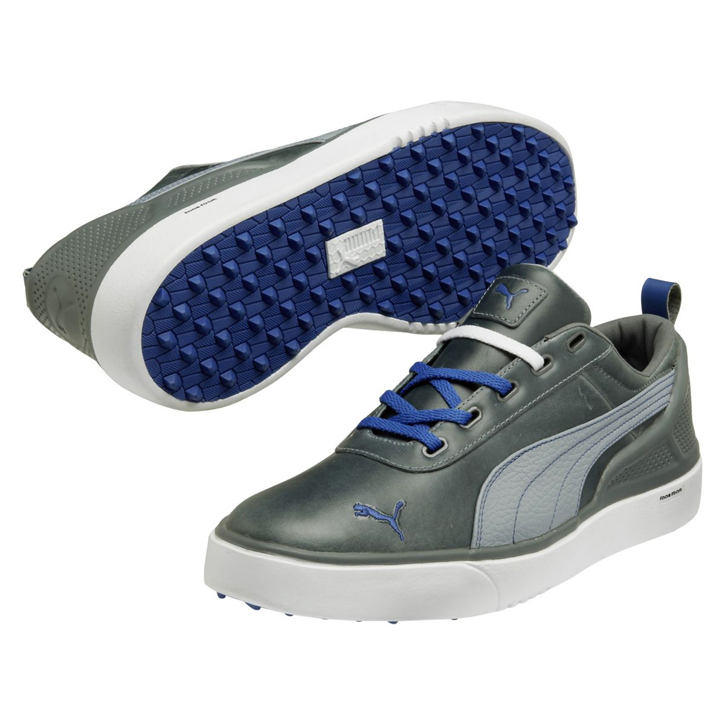 2014 Puma Monolite Mens Golf Shoes - Black/Lavender