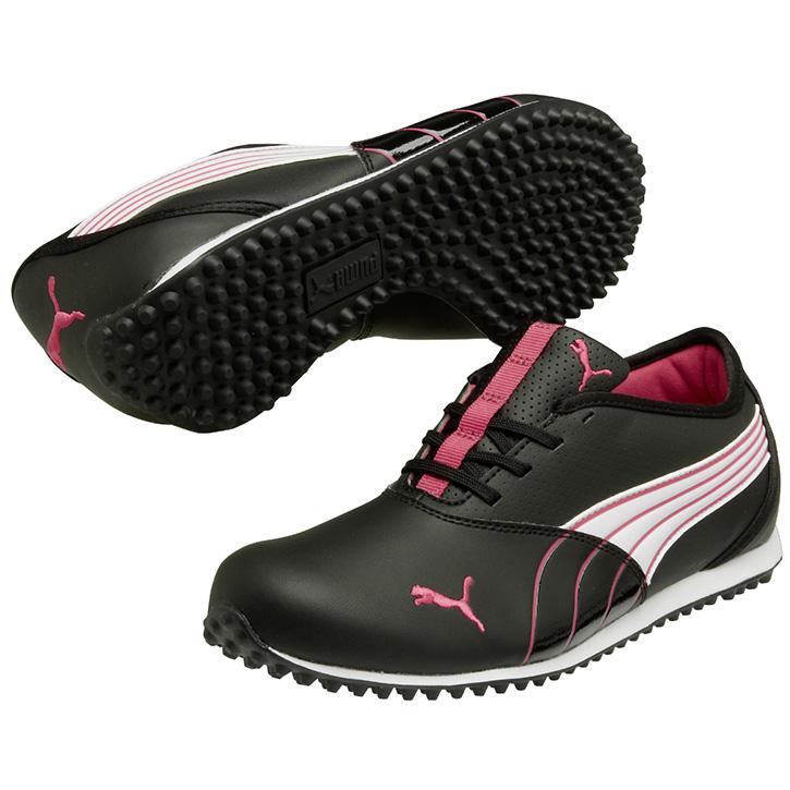 Puma Purple Golf Shoes