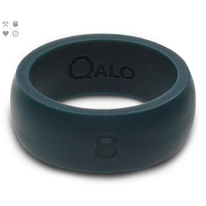 QALO Slicone Wedding Ring - Classic - Mens Slate Grey