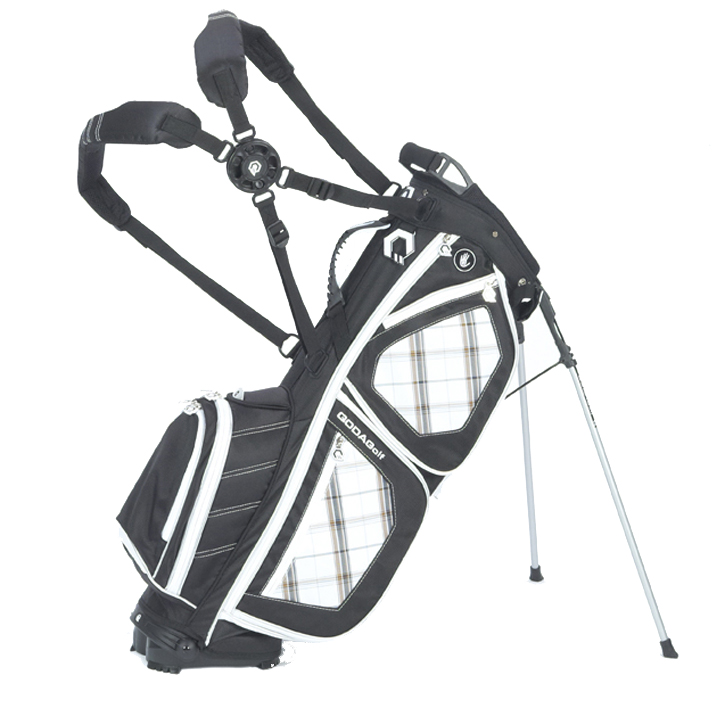 Qoda Quan Golf Stand Bag - Black Scott