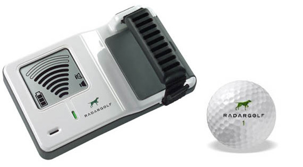 radar golf ball finding system