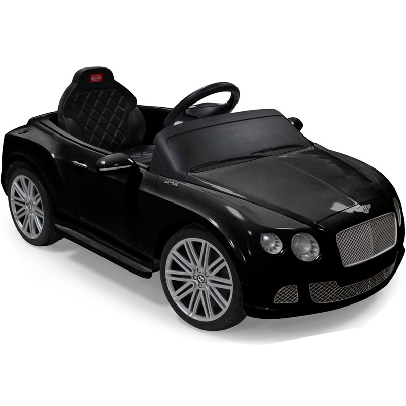 Rastar Bentley GTC 12v - Remote Controlled Kids Ride-On Car - Black