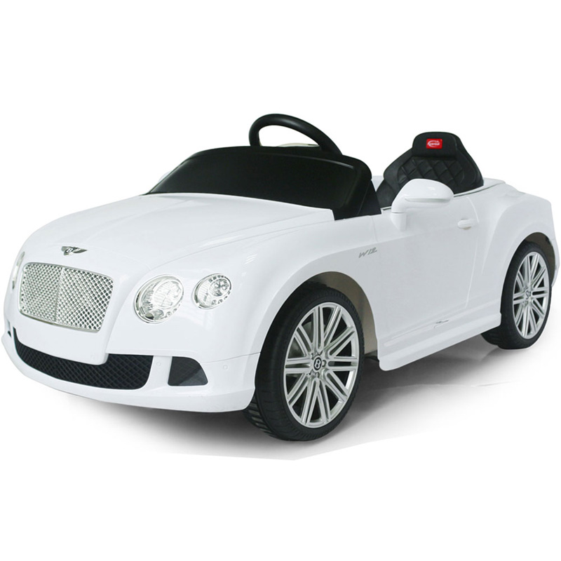 Rastar Bentley GTC 12v - Remote Controlled Kids Ride-On Car - White