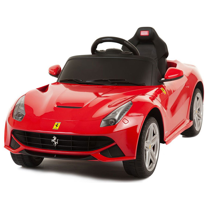 Rastar Ferrari F12 12v - Remote Controlled Kids Ride-On Car - Red