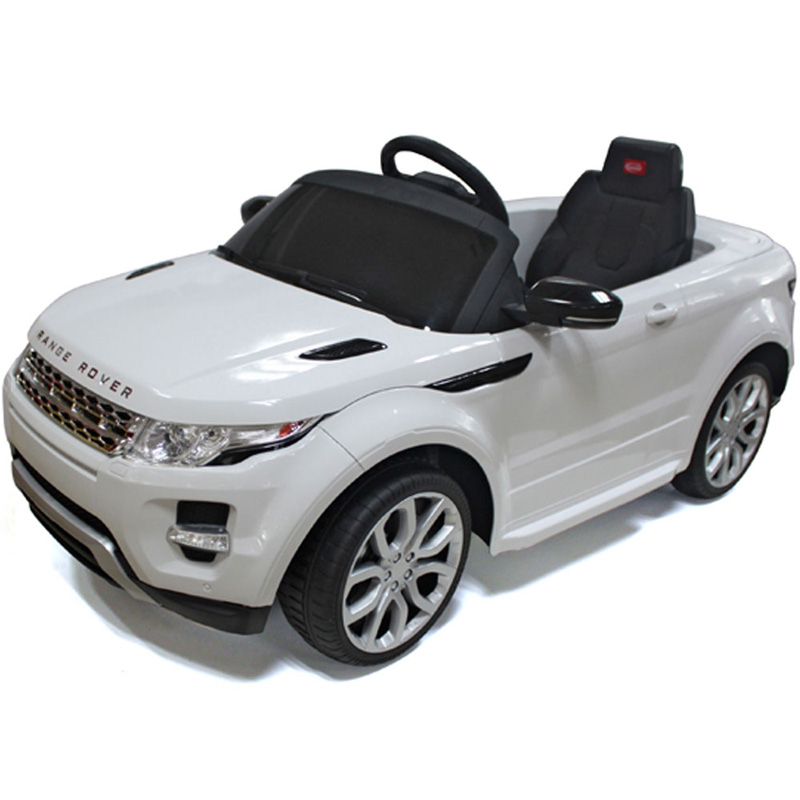 Rastar Land Rover Evoque 12v - White - Kids Mini Car