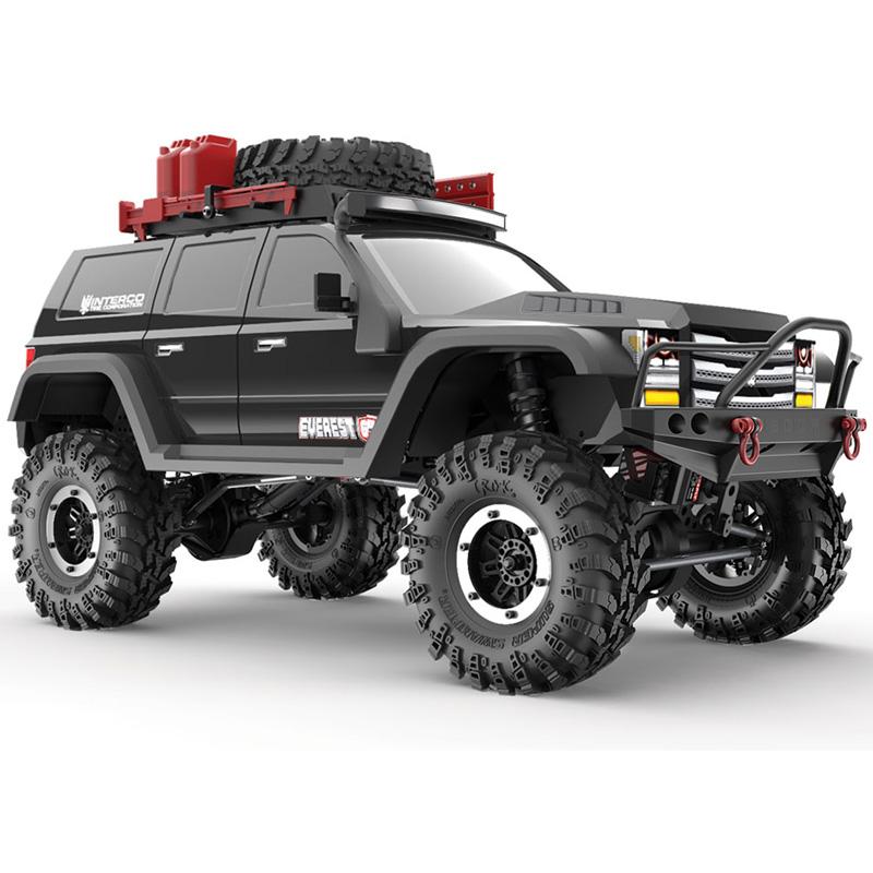 Redcat Racing Everest Gen7 PRO 1/10 Scale RC Truck RTR - Black