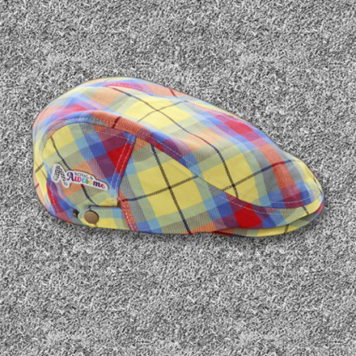 Royal & Awesome Flat Caps - Plaid Awesome Tartan