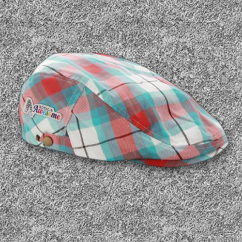 Royal & Awesome Flat Caps - Well Plaid Tartan