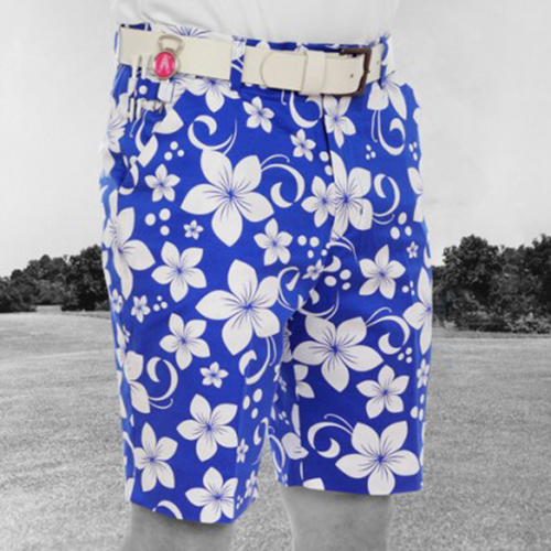 Royal & Awesome Mens Golf Shorts - Hawaii Five O