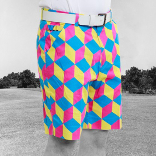 Royal & Awesome Mens Golf Shorts - Knicker Blocker Glory Image