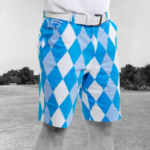 Royal & Awesome Mens Golf Shorts - Old Tom Shorts Image