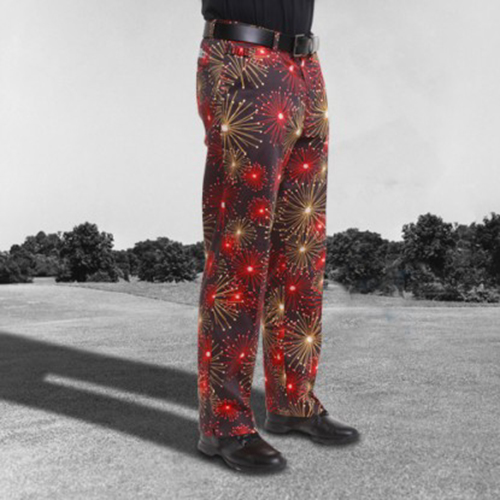 Royal & Awesome Mens Golf Pants - Ka Boom
