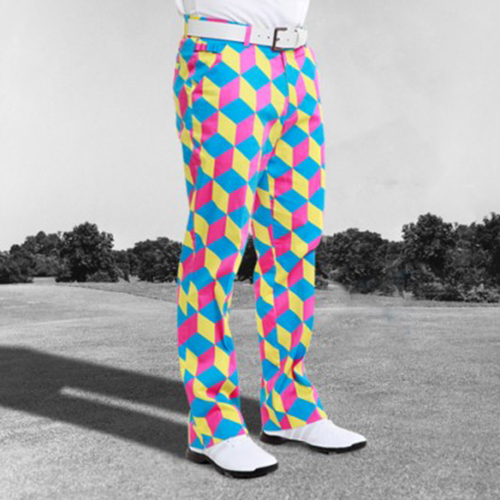 Image of Royal & Awesome Mens Golf Pants - Knicker Blocker Glory