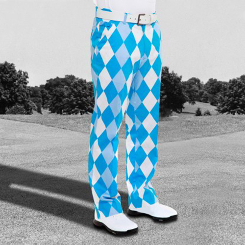 Royal & Awesome Mens Golf Pants - Old Toms Image