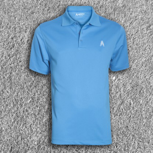 Royal & Awesome Mens Polo Shirt - Blue Image