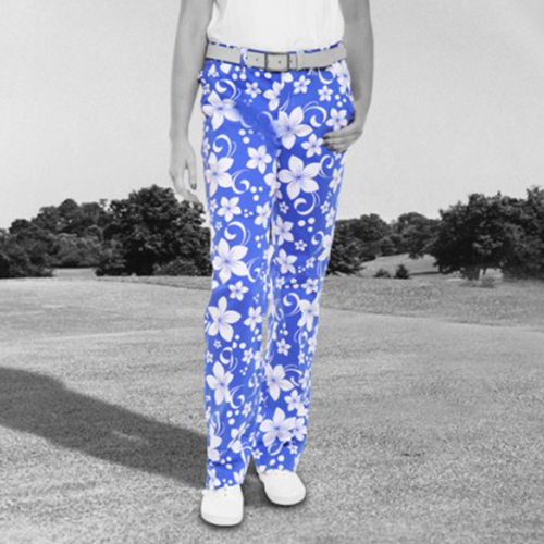 Royal & Awesome Womens Pants - Hawaii Five O