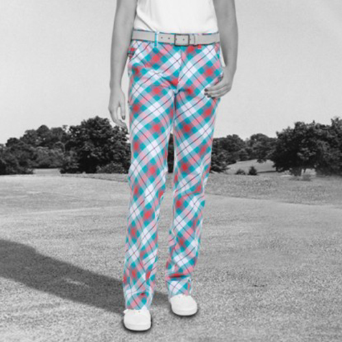 Image of Royal & Awesome Womens Pants - Well Plaid Tartan