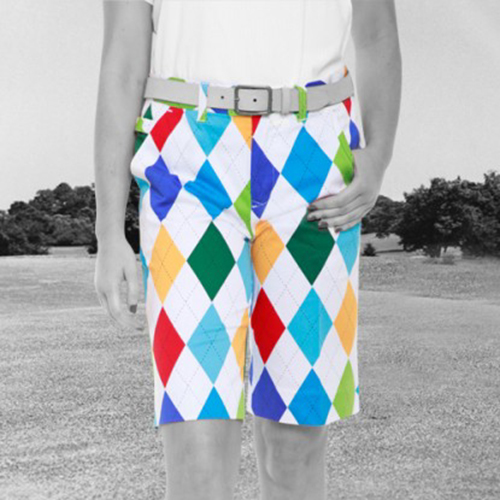 Royal & Awesome Womens Shorts - King of Diamonds