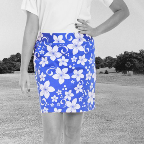 Royal & Awesome Womens Skorts - Hawaii Five O Image
