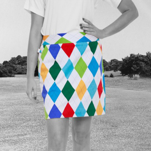 Image of Royal & Awesome Womens Skorts - King of Diamonds