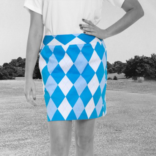 Royal & Awesome Womens Skorts - Old Toms