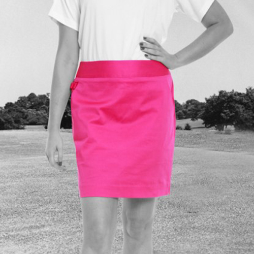 Royal & Awesome Womens Skorts - Pink Ticket