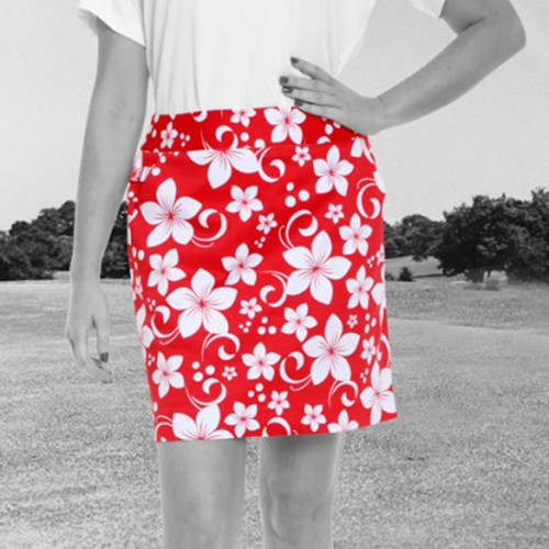 Royal & Awesome Womens Skorts - Wahine Magnet