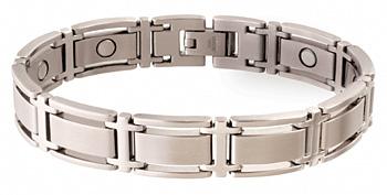 Sabona Executive Symmetry Silver Magnetic