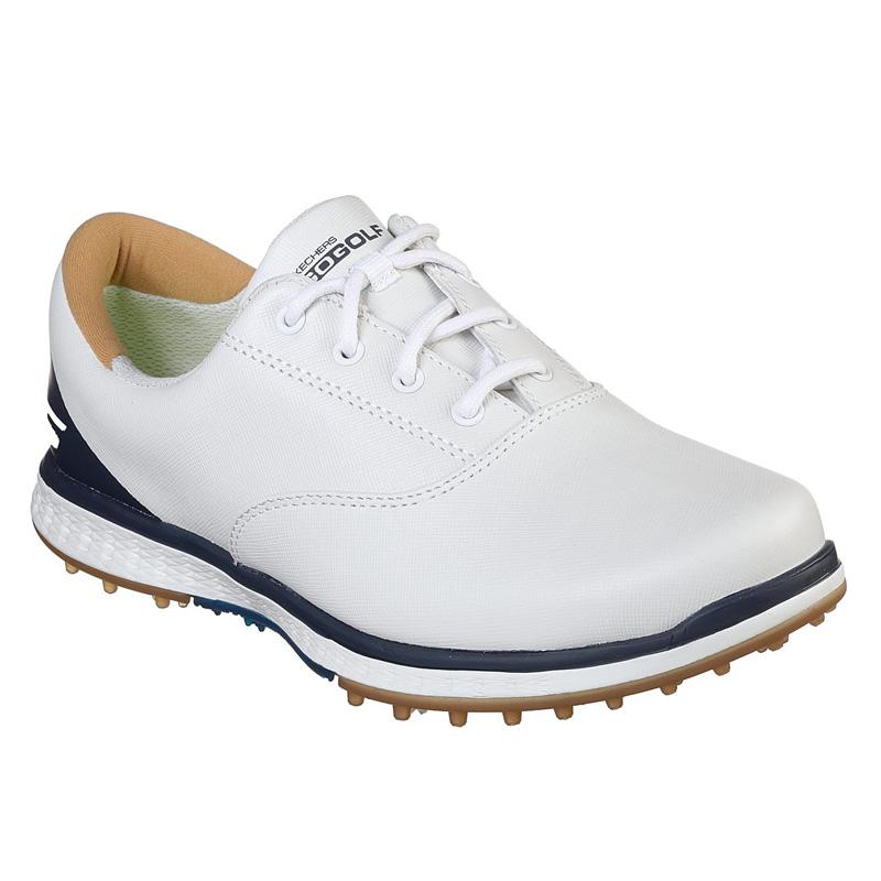 2019 Skechers Go Golf Elite V2 Adjust Golf Shoes - Womens - White/Navy