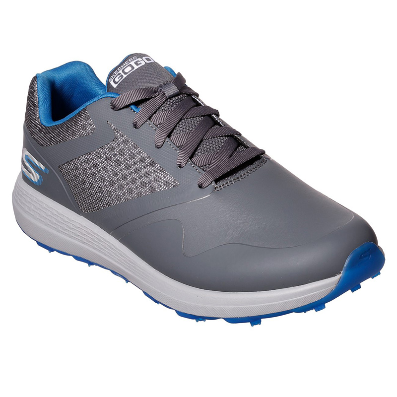 2019 Skechers Go Golf Max Golf Shoes - Charcoal/Blue