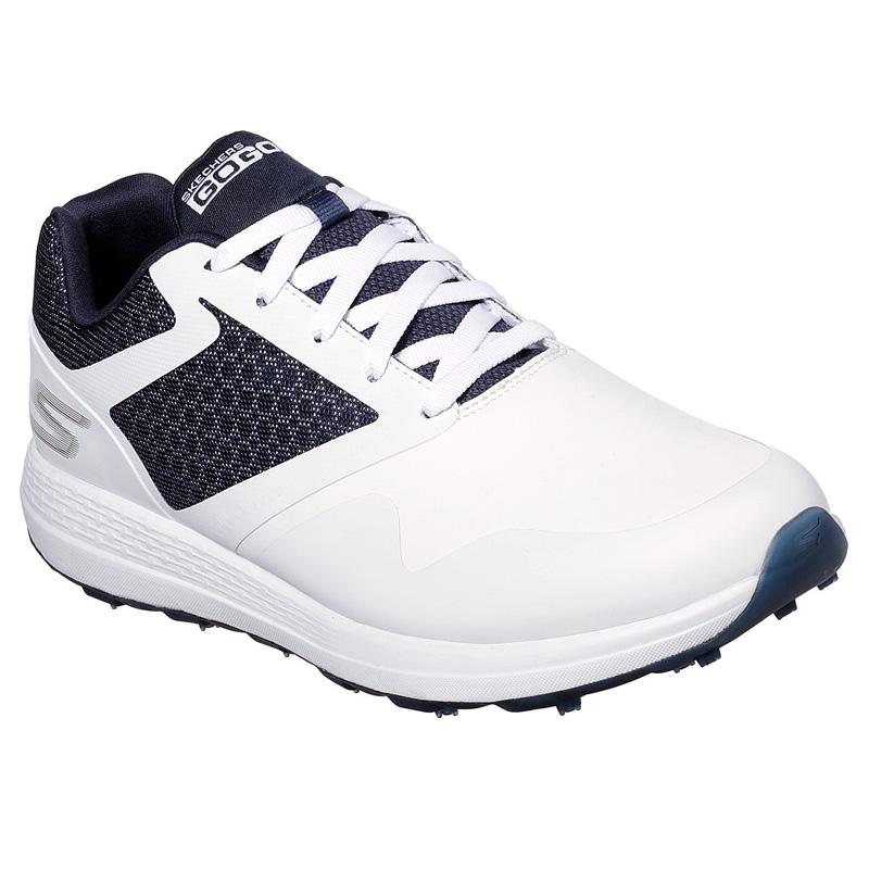 2019 Skechers Go Golf Max Golf Shoes - White/Navy