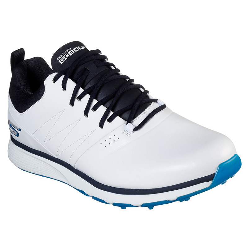 2019 Skechers Go Golf Mojo Golf Shoes - Punch Shot -White/Blue