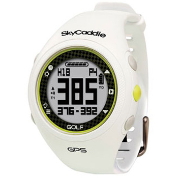 SkyGolf SkyCaddie Golf GPS Watch - White