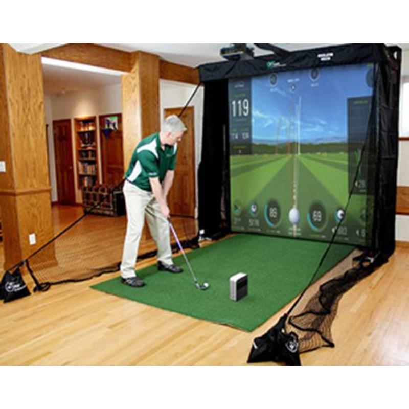 SkyTrak Net Return Golf Simulator Series Package