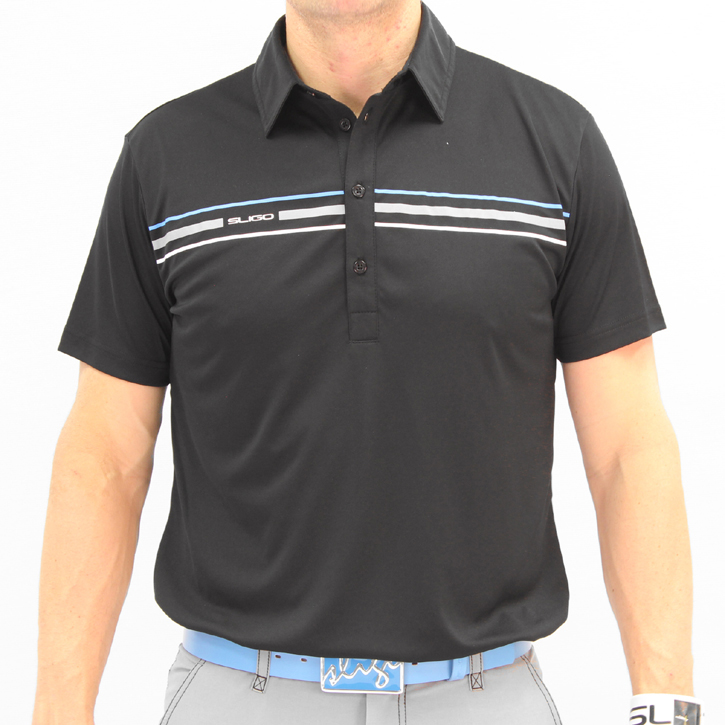 Image of Sligo Gerrard Golf Shirt - Black