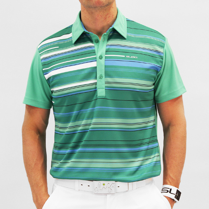 Sligo Harlow Golf Shirt - Paris Green