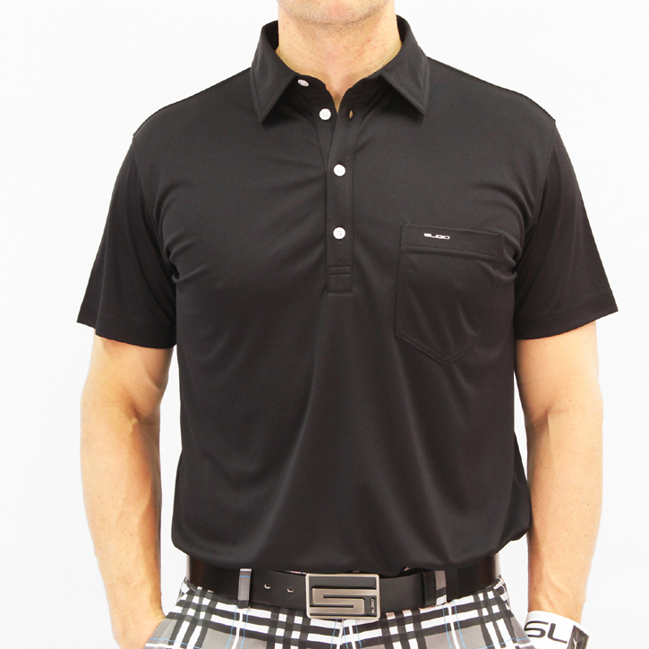 Sligo Martin Golf Shirt - Black
