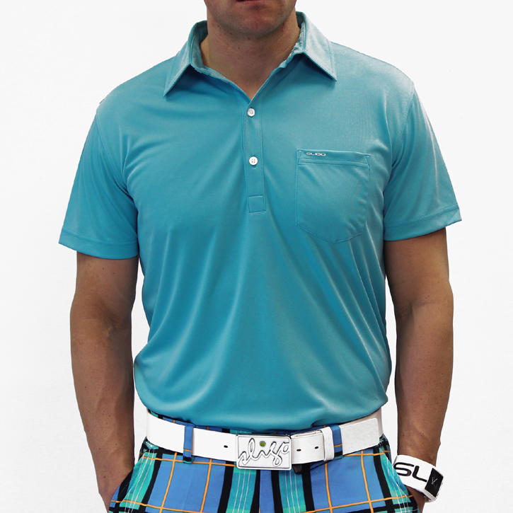 Sligo Martin Golf Shirt - Brooklyn Blue