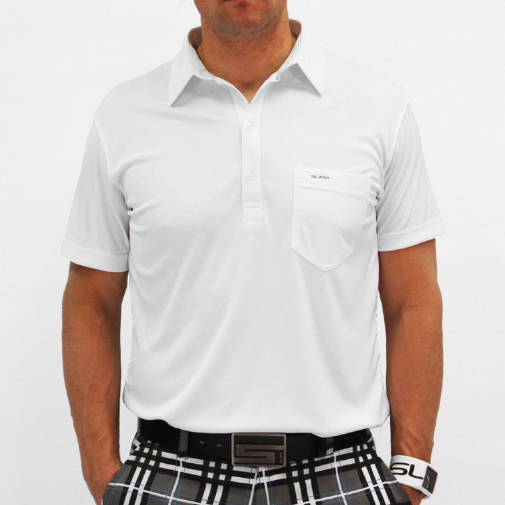 Sligo Martin Golf Shirt - White Image