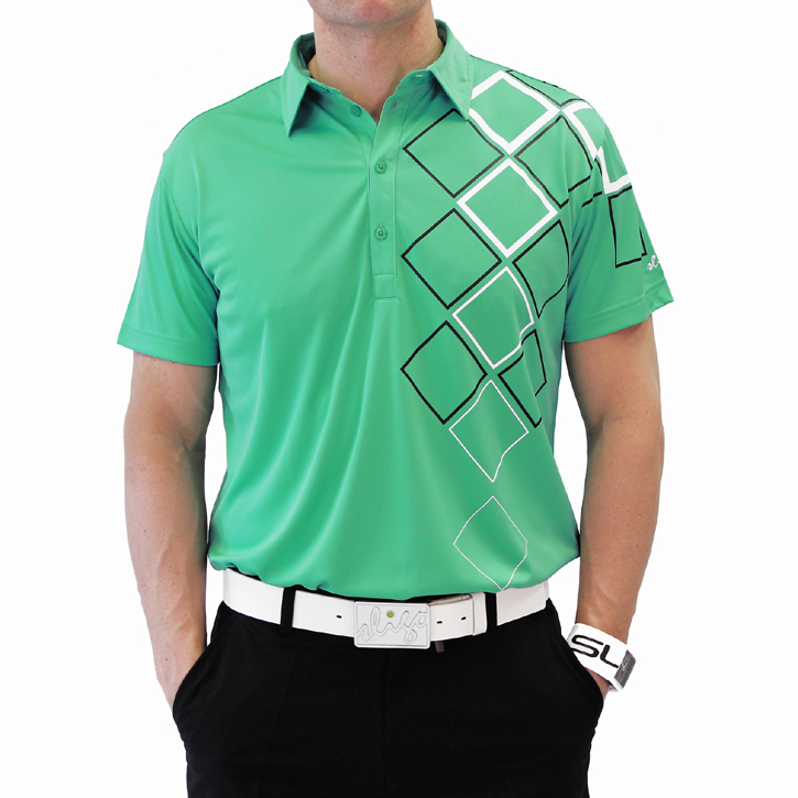 Sligo Obrien Golf Shirt - Paris Green Image