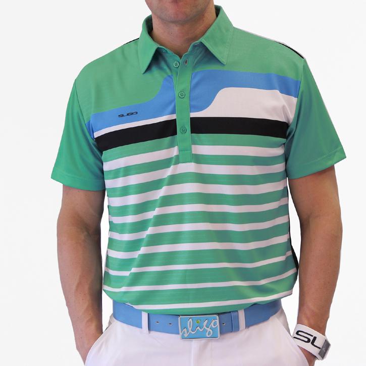 Sligo Stratford Golf Shirt - Paris Green