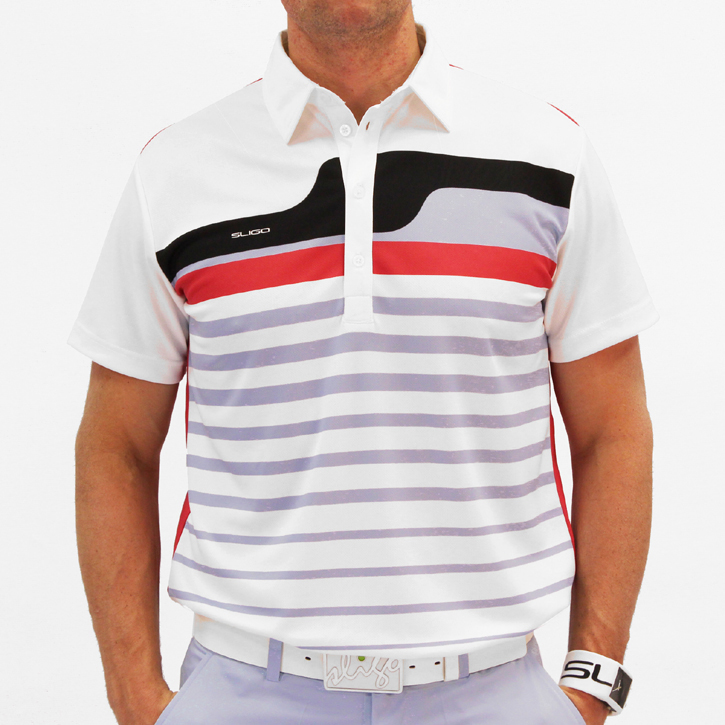 Sligo Stratford Golf Shirt - White